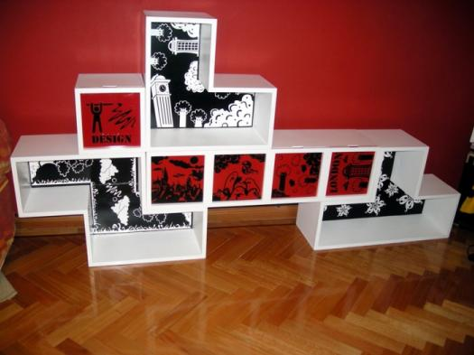 1 Estanteria Tetris