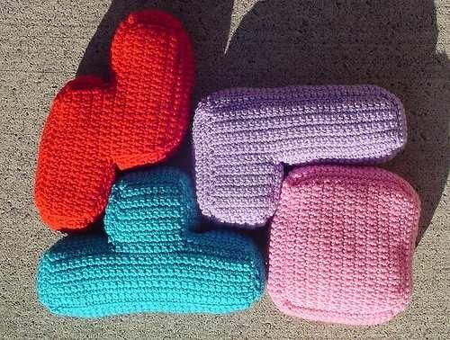 10 almohadones tetris II