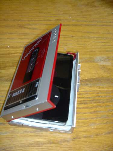 Funda de Walkman de los 80's para Ipod 1