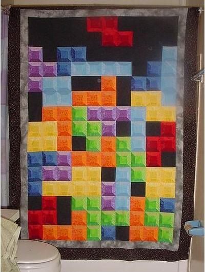 18 frazada tetris
