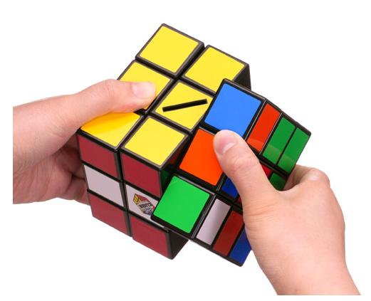 2 Alcancia cubo Rubik