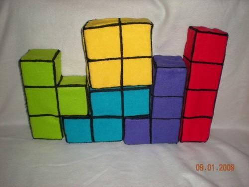 20 bloques decorativos tetris
