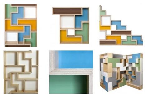 4 Estantes tetris III