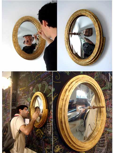 4 espejo loco varita magica