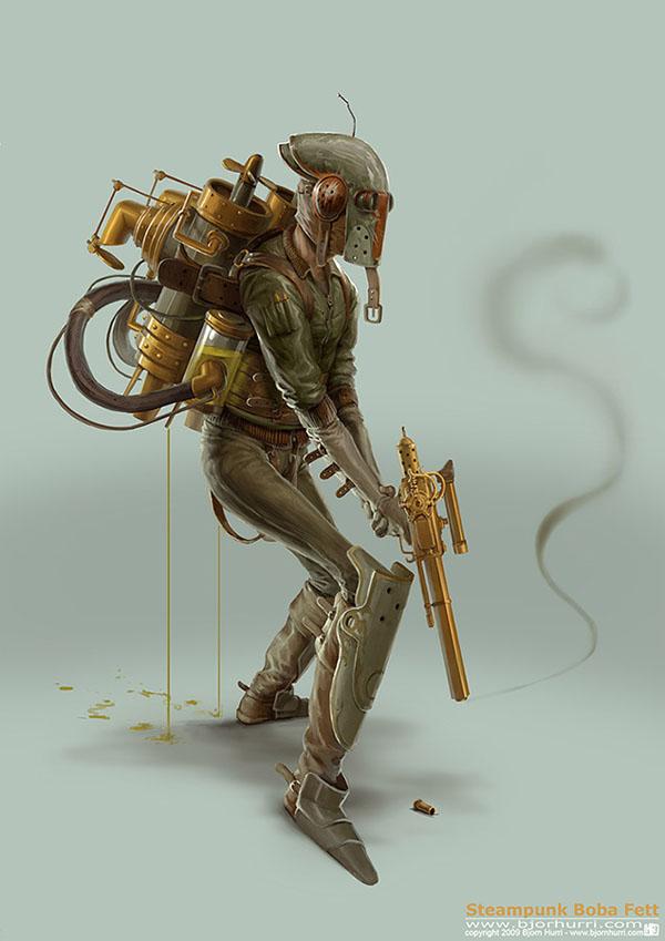 Boba Fett Steampunk