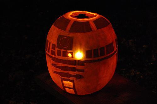 Calabaza R2 D2