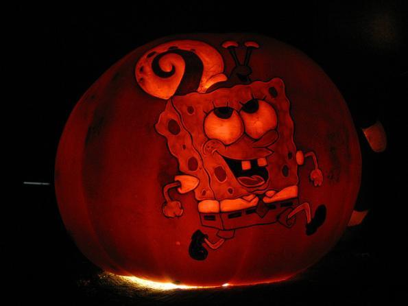 Calabazas de Halloween Bob Esponja
