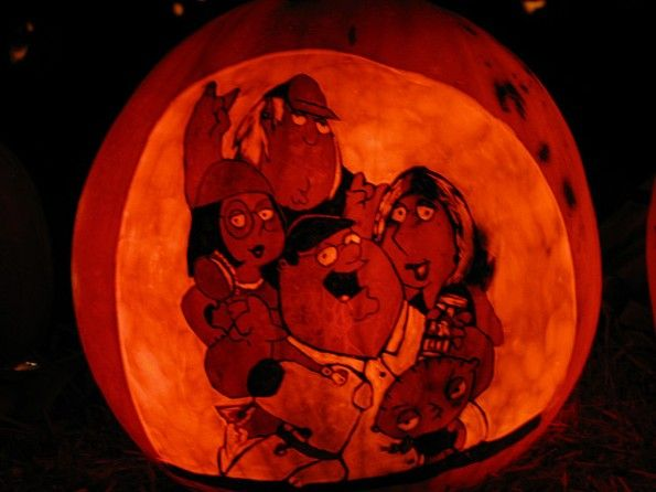 Calabazas de Halloween Family guy - Griffin