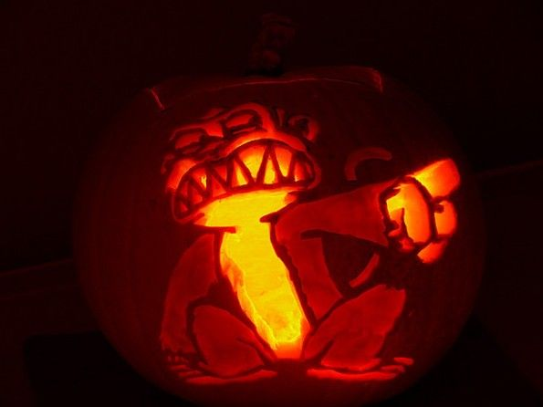 Calabazas de Halloween Family guy - Mono