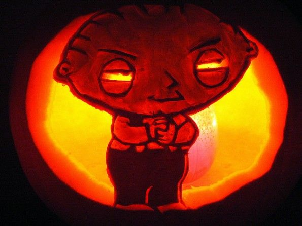 Calabazas de Halloween Family guy - Stewie