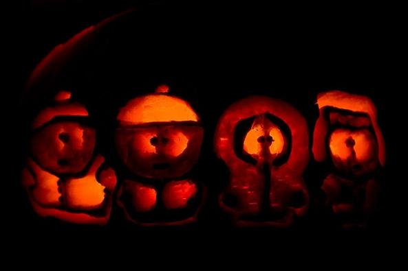 Calabazas de Halloween South Park
