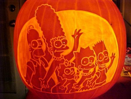 Calabazas de Halloween de Los Simpsons - Los Simpsons