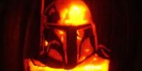 Calabazas de Halloween de Star Wars - Boba Fett