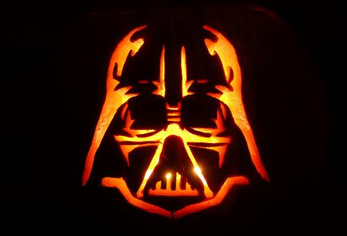 Calabazas de Halloween de Star Wars - Darth Vader