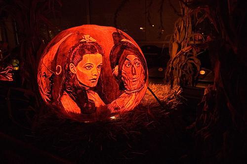 Calabazas de Halloween geeks - Mago de Oz