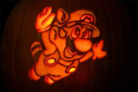 Calabazas de Halloween geeks - Mario Bros