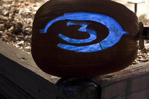 Calabazas de Halloween videojuegos - Halo