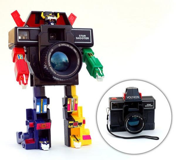 Camara de fotos Transformer Voltron