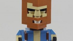 Chuck norris Lego