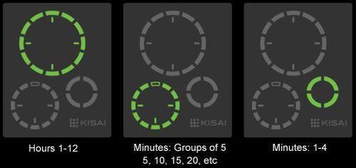 El Reloj Negro Satelite Kisai 1