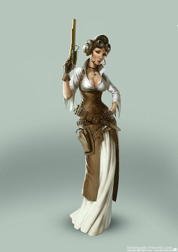 Leah Steampunk