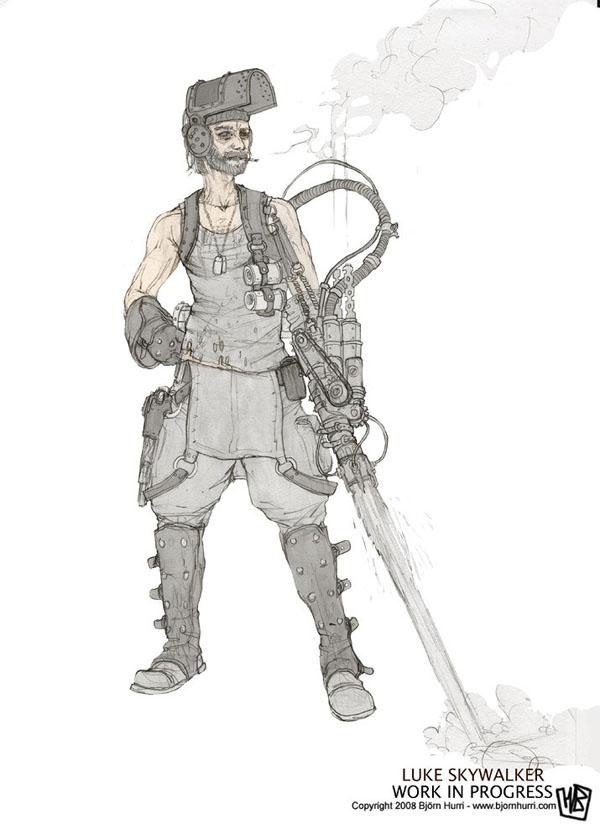 Luke Steampunk