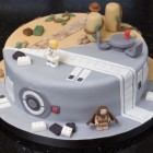 Pastel Combo de Star Wars e Indiana Jones 1