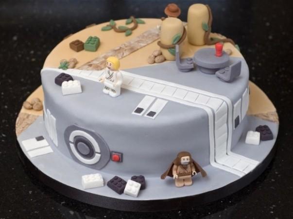 Pastel Combo de Star Wars e Indiana Jones 1