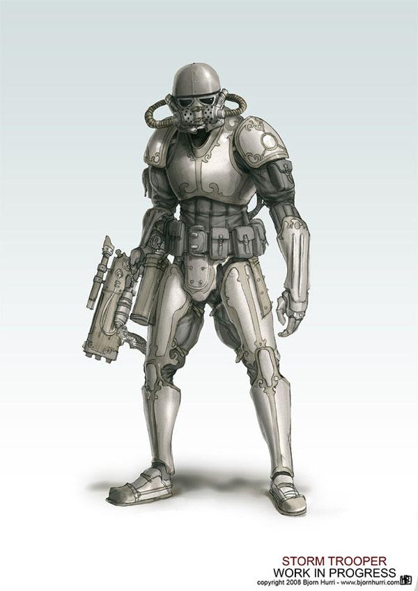 Storm Trooper Steampunk