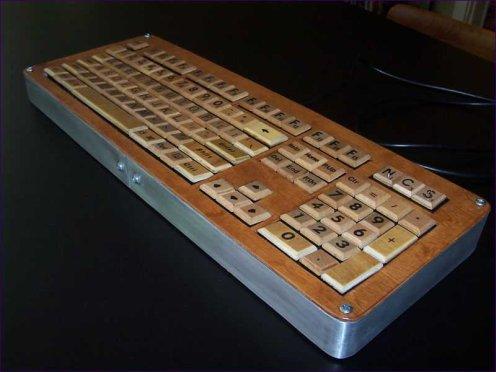 Teclado de Scrabble