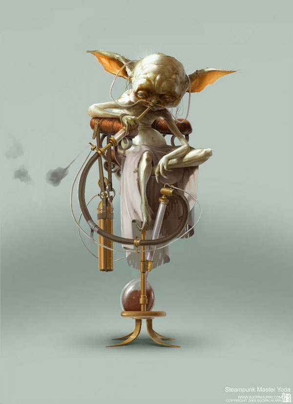 Yoda Steampunk