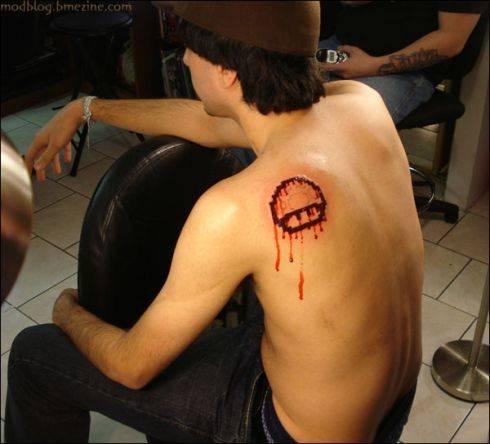 5 tatuaje super mario hongo