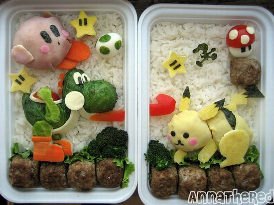 Bento Super Smash Bros