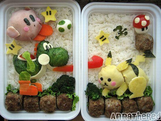 Bento Super Smash Bros