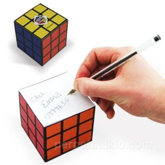 Bloc de Notas de Cubo Rubik