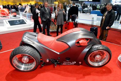 Concepto de Moto Pendolauto