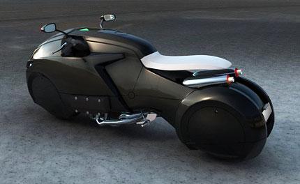 Concepto de Motocicleta ICare