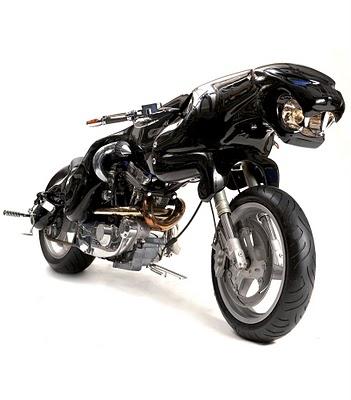 Concepto de Motocicleta Jaguar
