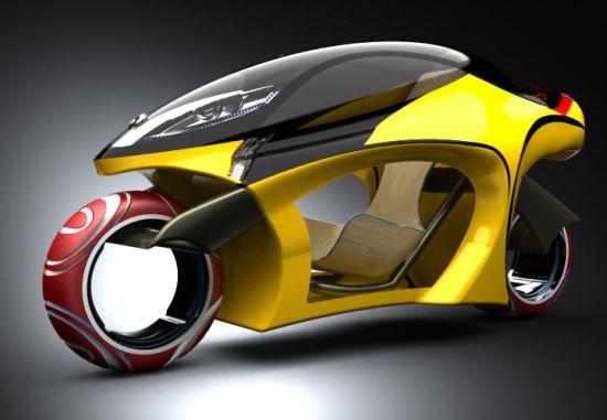 Concepto de Motocicleta Leo
