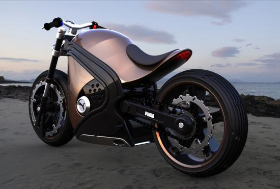 Concepto de Motocicleta Puma