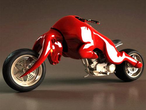 Concepto de Motocicleta de Red Bull
