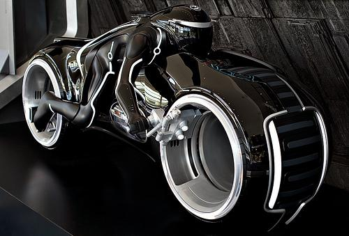 Concepto de Motocicleta de Tron Legacy
