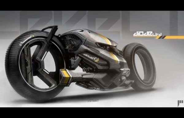 Concepto de Super Moto Agorapode