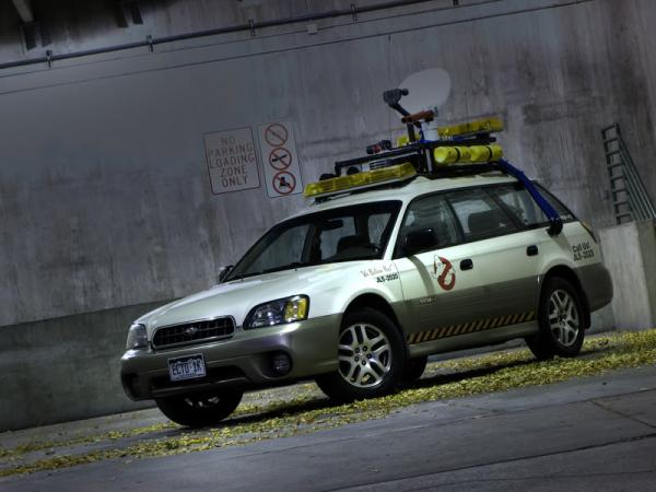 Ecto-1 de Ghostbuster