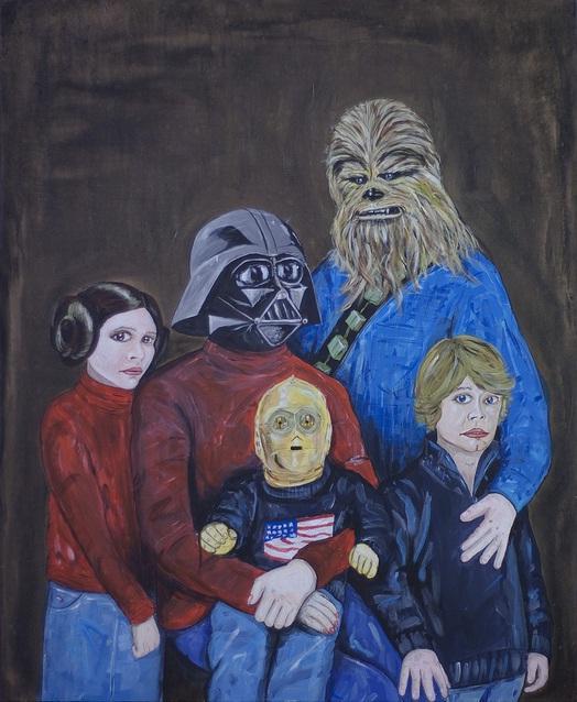 Familia Star Wars 2