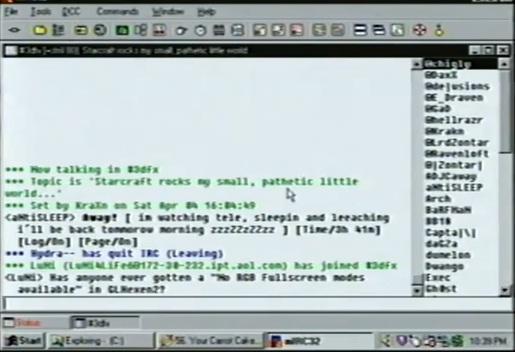 Internet en 1998