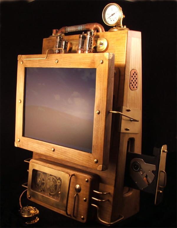 Laptop Steampunk 3