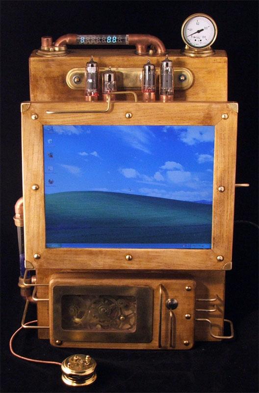 Laptop Steampunk 6
