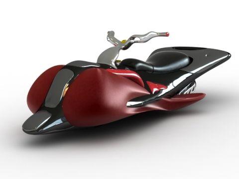 Machine Fly, La Motocicleta Voladora