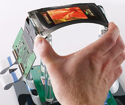 OLED Flexible de Pulsera